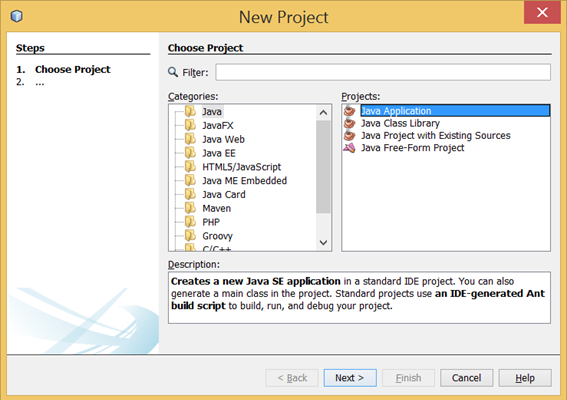 How To Create Desktop Application In Java Using Netbeans