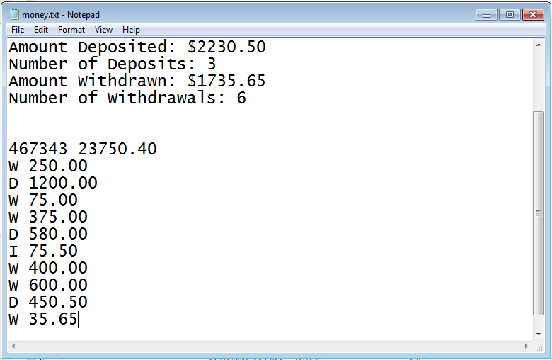 Checking Account Balance in Java Application | Free Source