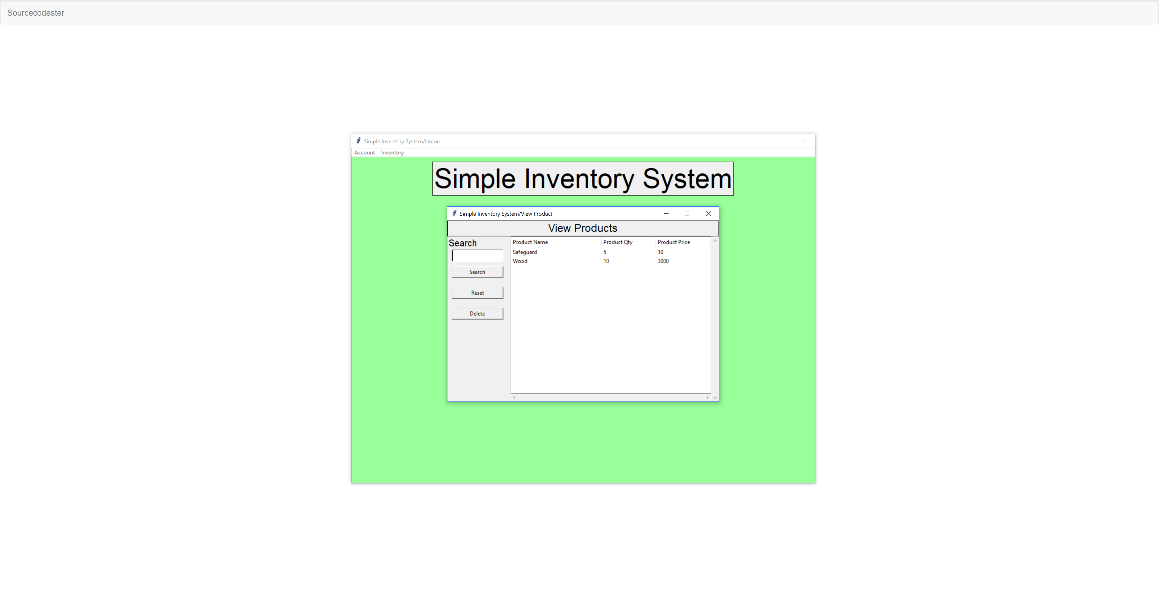 Python: Simple Inventory System | Free Source Code & Tutorials