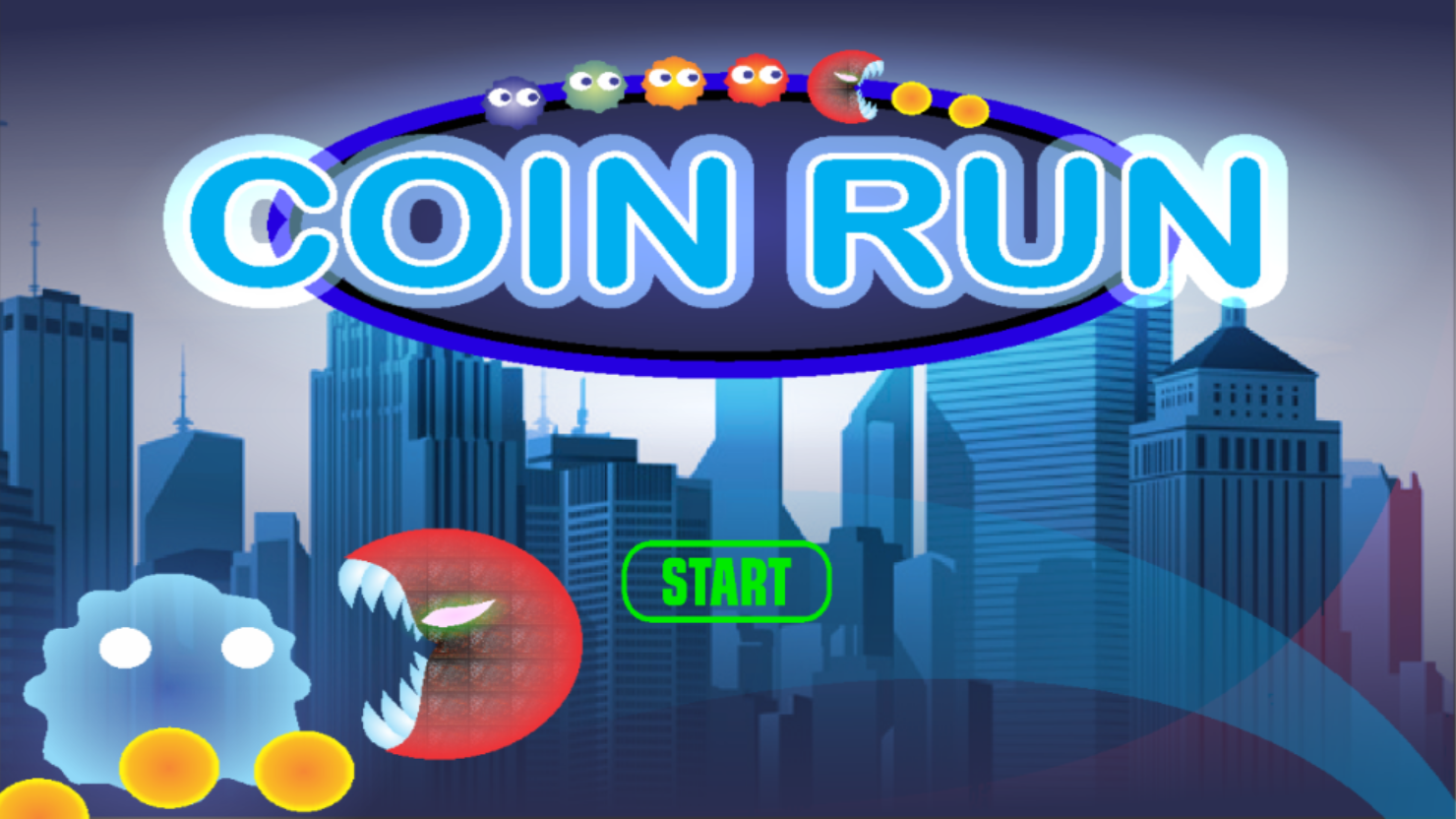 Coin Run - A Simple Retro Arcade Game For Android/IOS | Free Source