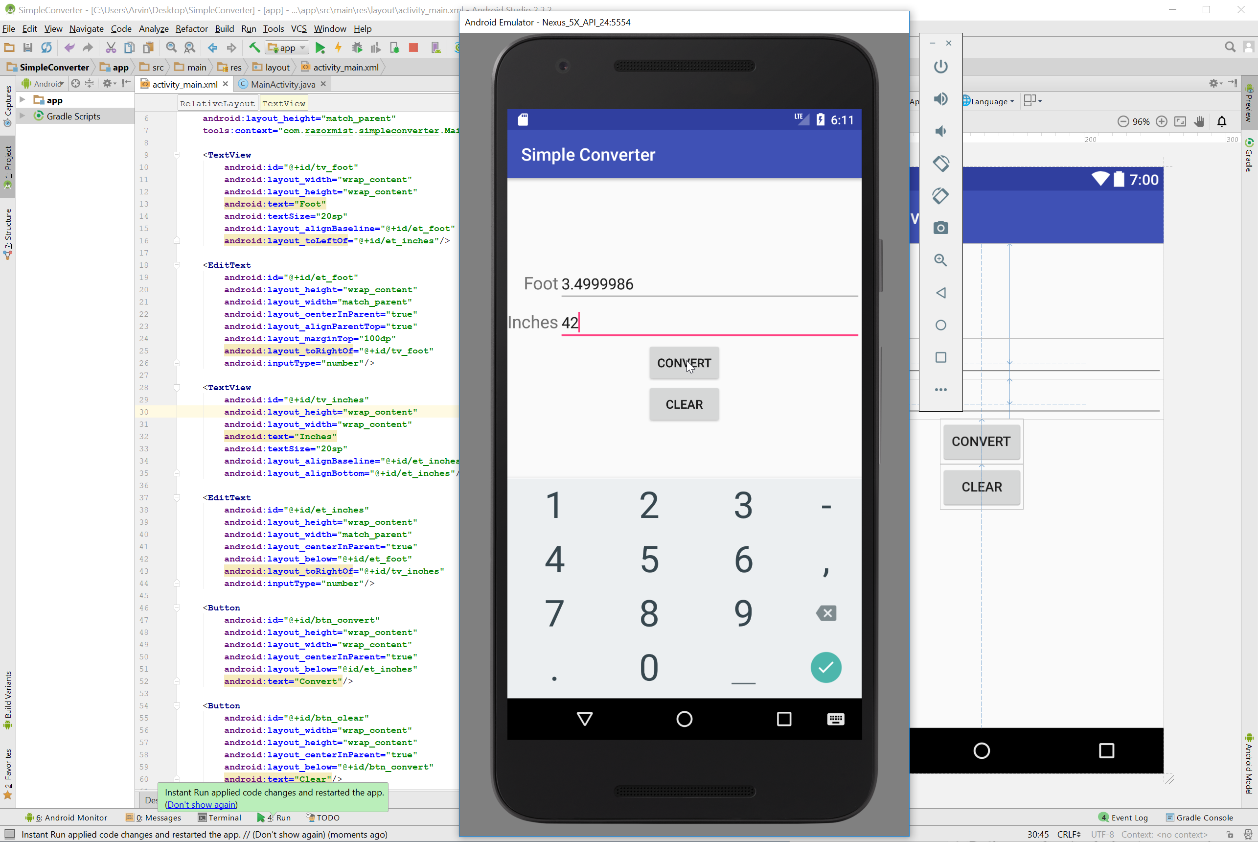 Android simple converter for beginners free source code in this tutorial we will try to create a simple converter using android android is a widely adopted open source project android is an open source so that baditri Images