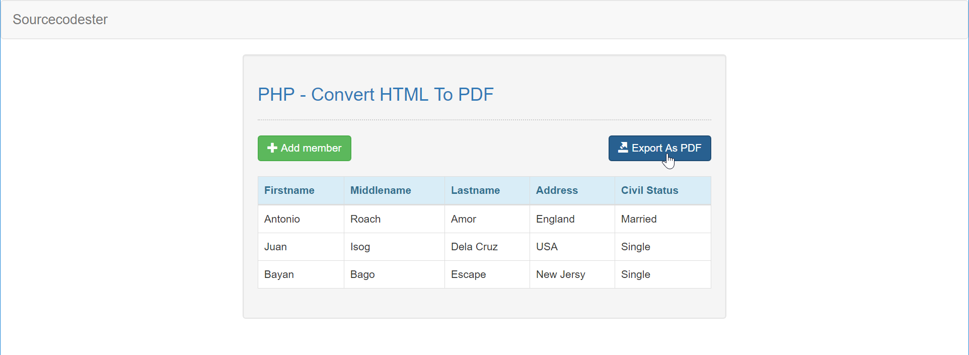 PHP - Convert HTML To PDF | Free Source Code & Tutorials