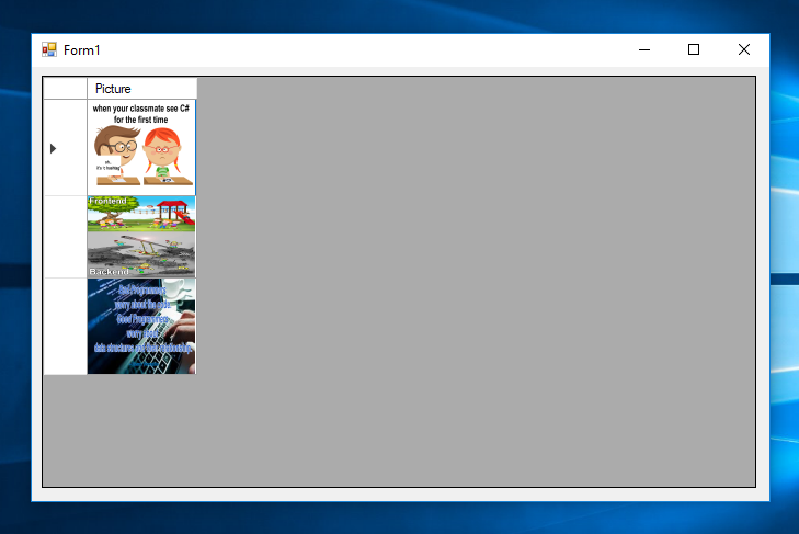 How to Display and Resize the Image in the DataGridView