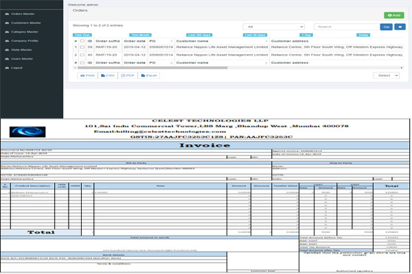 Online Invoicing System In Php Pdo With Full Source Code 2020 Free Source Code Projects Tutorials