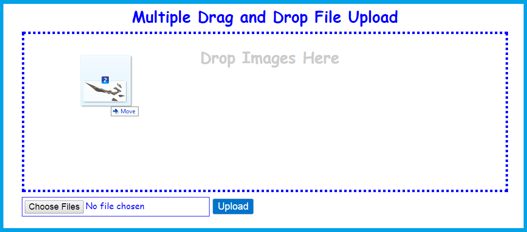 Multiple File and Drop Upload | Free Source Code & Tutorials