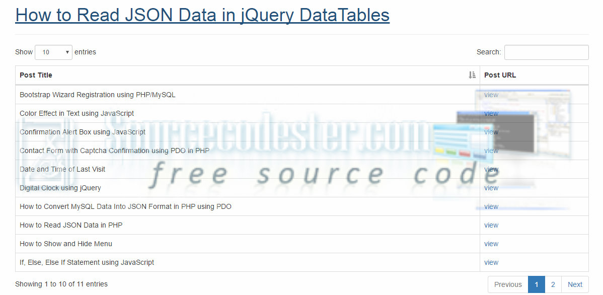 how to get json jquery