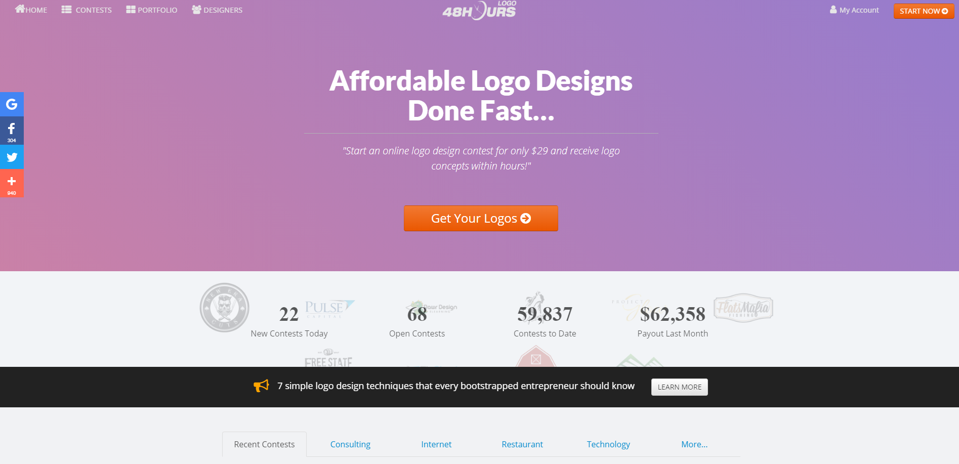 48HoursLogo – Affordable Logos Done Fast