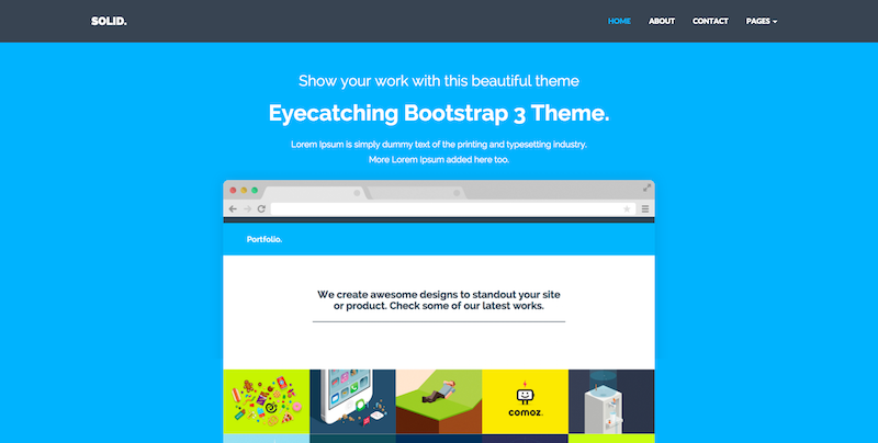 10 Free Responsive Bootstrap Templates | Free source code ...
