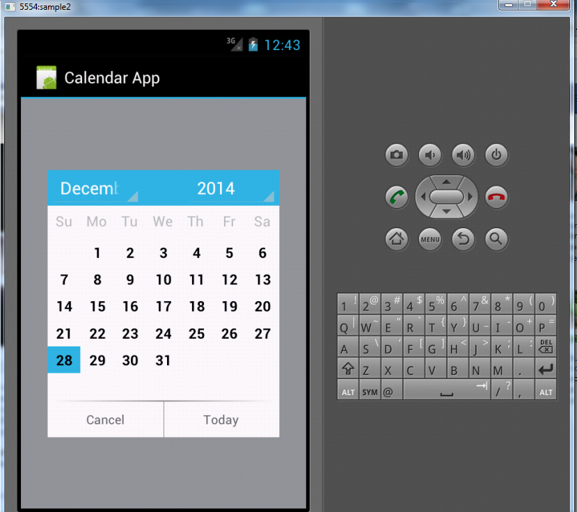 Calendar Application in Android | Free Source Code & Tutorials