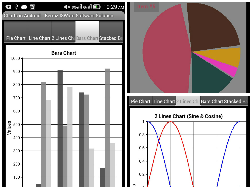 Chart application in android free source code tutorials and i have created an android application for charts display this app was programmed through basic4android and no libraries to be added to your program nvjuhfo Gallery