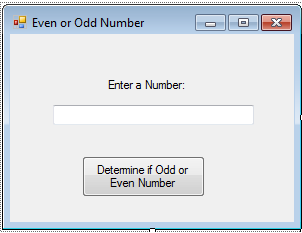 determine even or odd number in vb.net