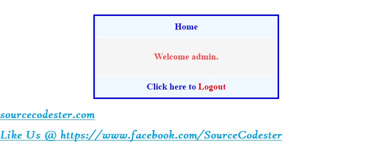 how to create timeout on login page