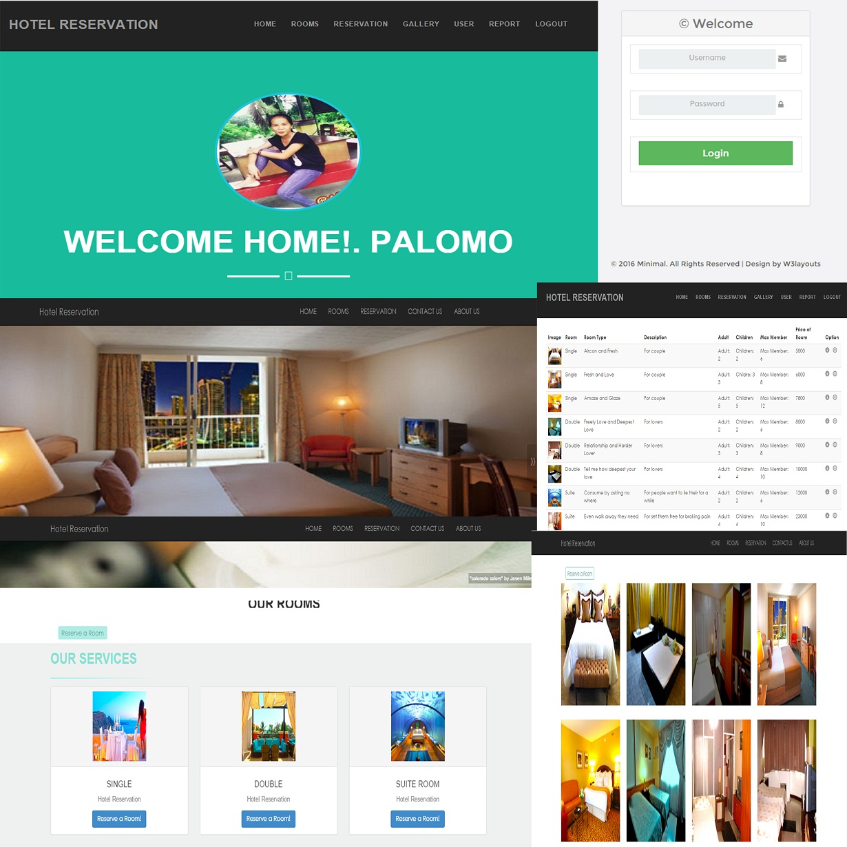 Hotel reservation using php free source code tutorials for Site reserver hotel