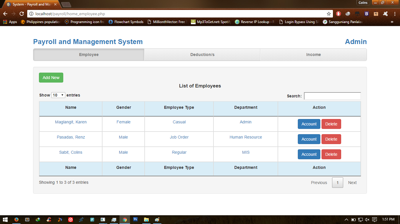Payroll Management and Information System | Free Source Code & Tutorials