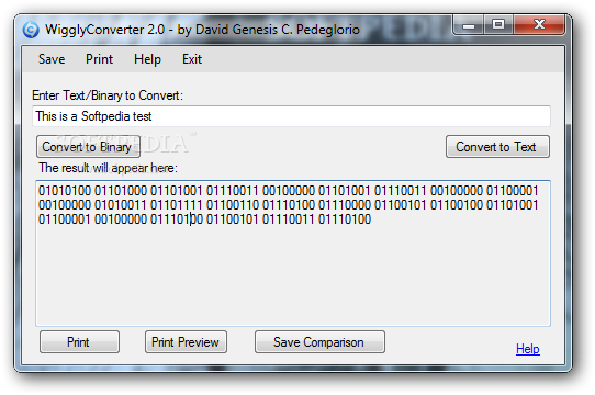 Binary to Text Converter | Free source code, tutorials and ...