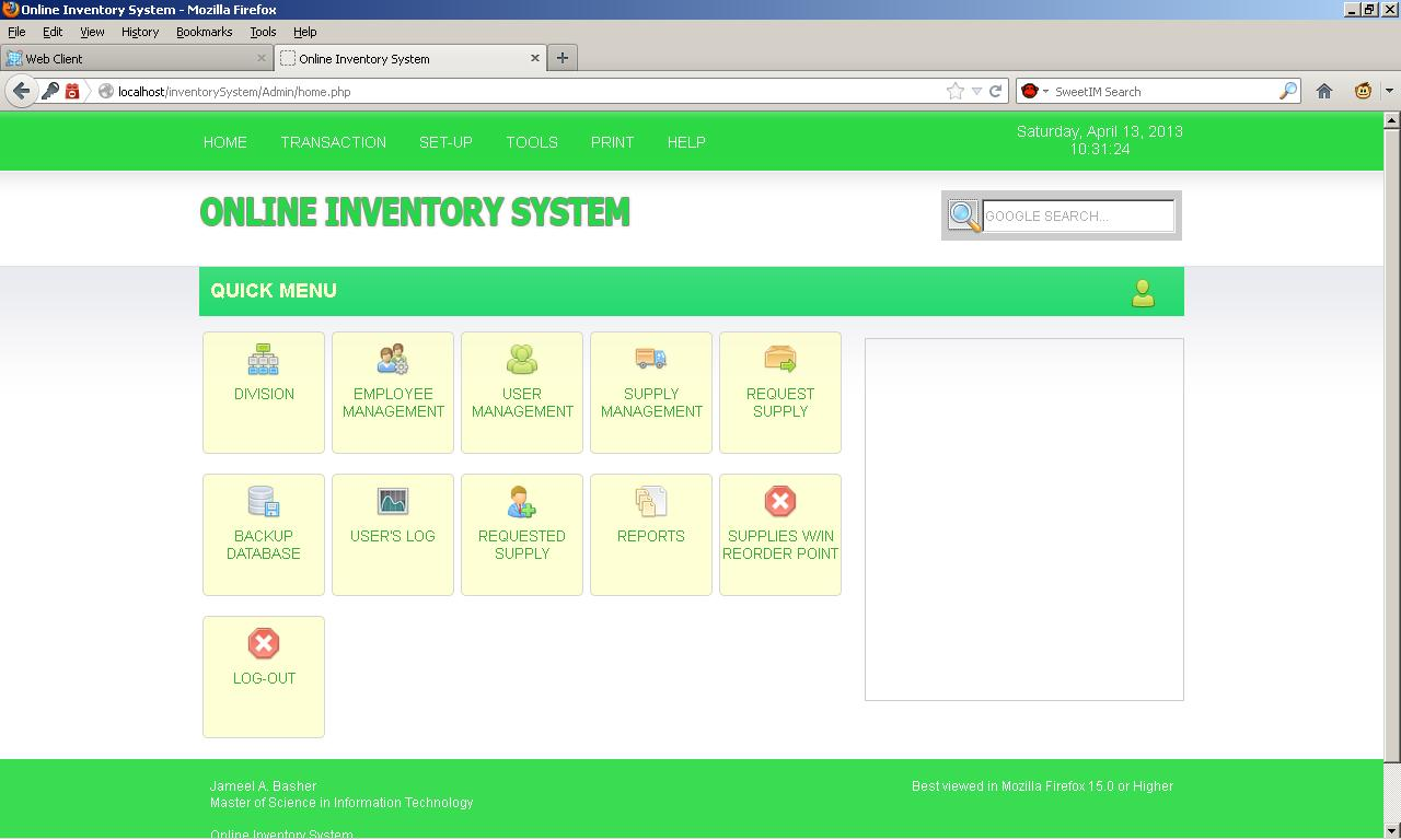 Online Inventory System Free Source Code Tutorials And