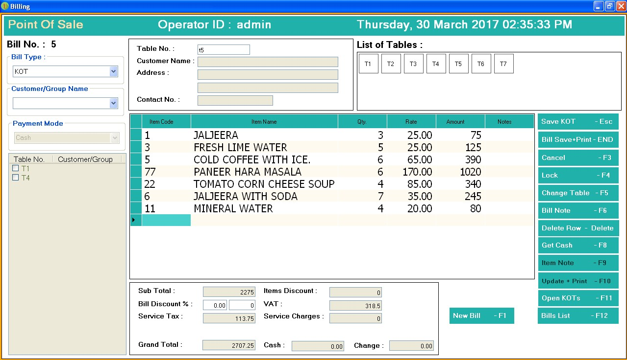 restaurant billing system Restaurant billing software, mobile tablet based order tracking | restaurant magagement software, system jaipur,india , restaurant pos system, restaurant billing system.