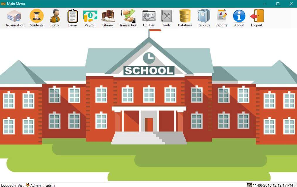 School Management System Version 2 0 Free Source Code