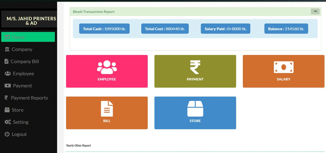 Responsive Payroll Management System Free Source Code