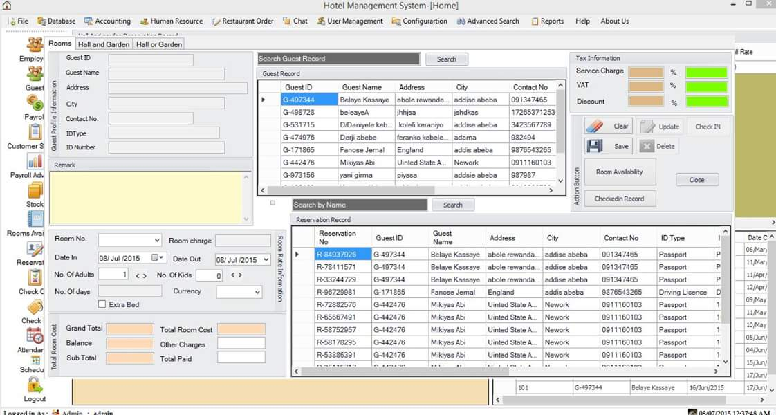 Hotel Erp System Free Source Code Tutorials And Articles