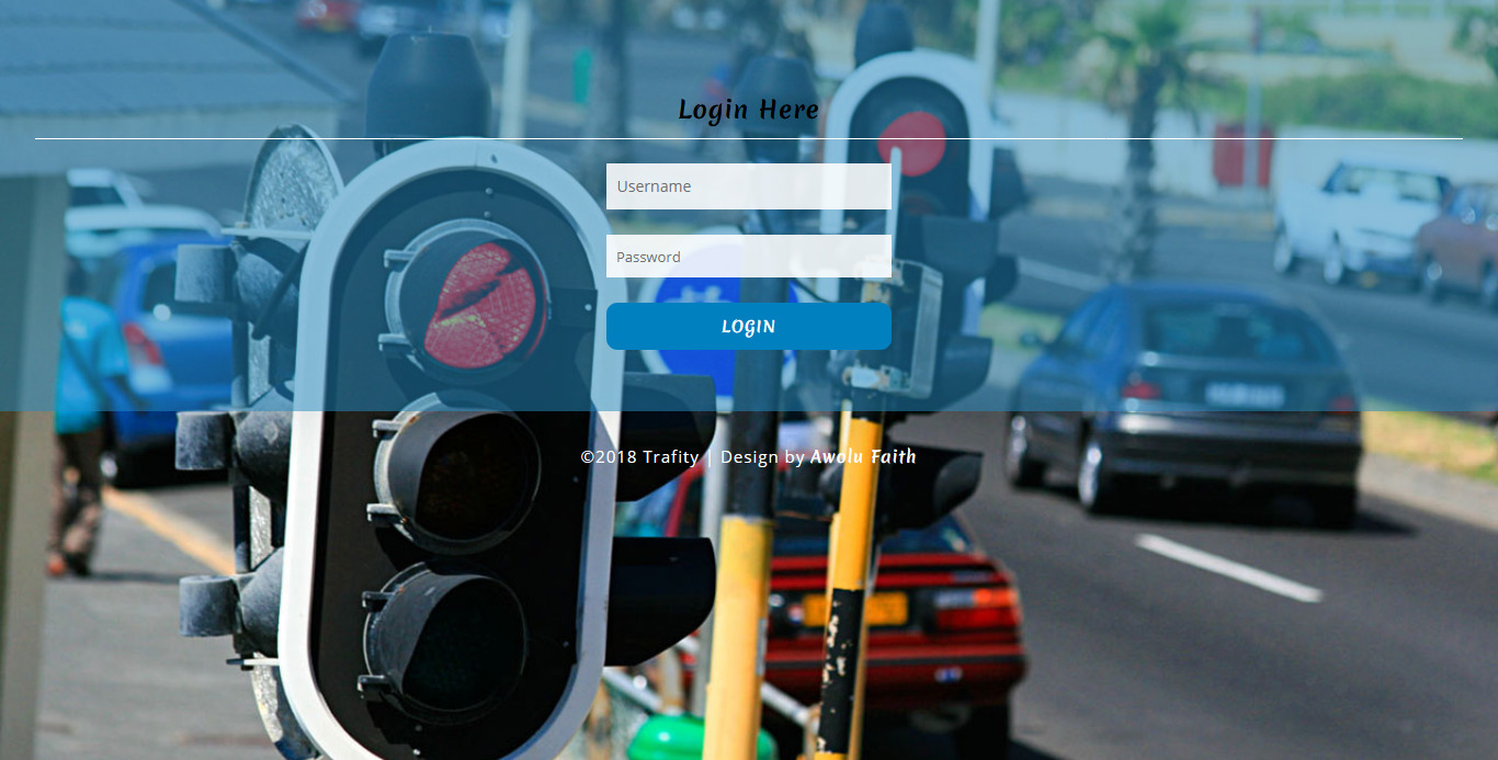 Simple Traffic Offense System  in PHP