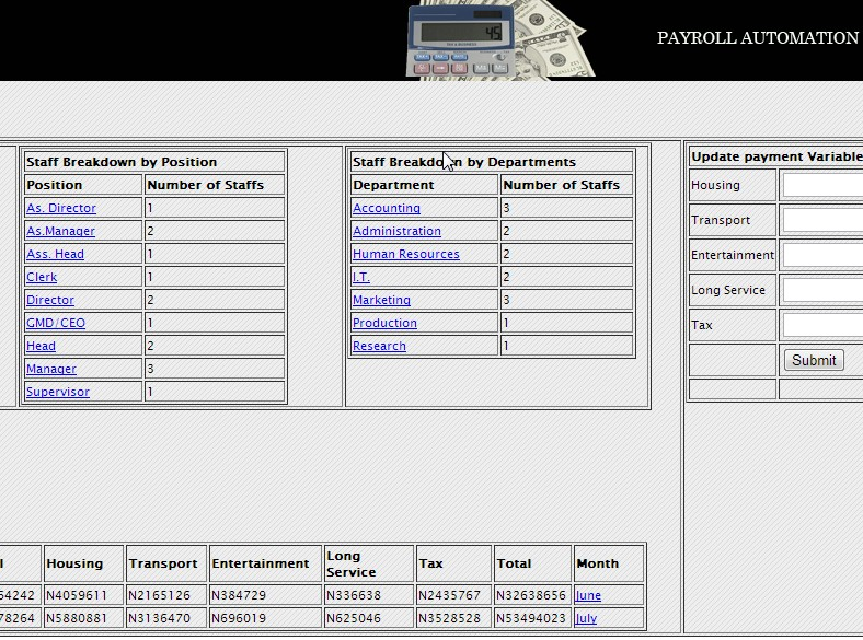 Payroll Automation And Personnel Management Free Source