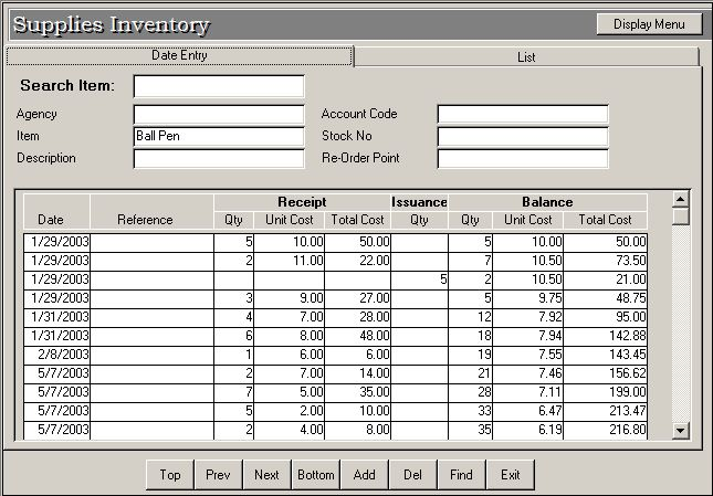 iict supplies inventory system As the person in charge of inventory management at a small business, startup   use this template to track all of your supplies and equipment -- whether you're.