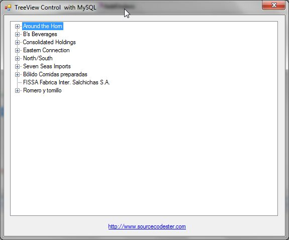how to create tree view in asp net using c#