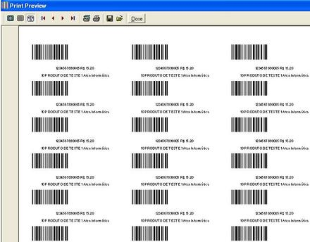 Program to Generate Barcode Labels | Free Source Code