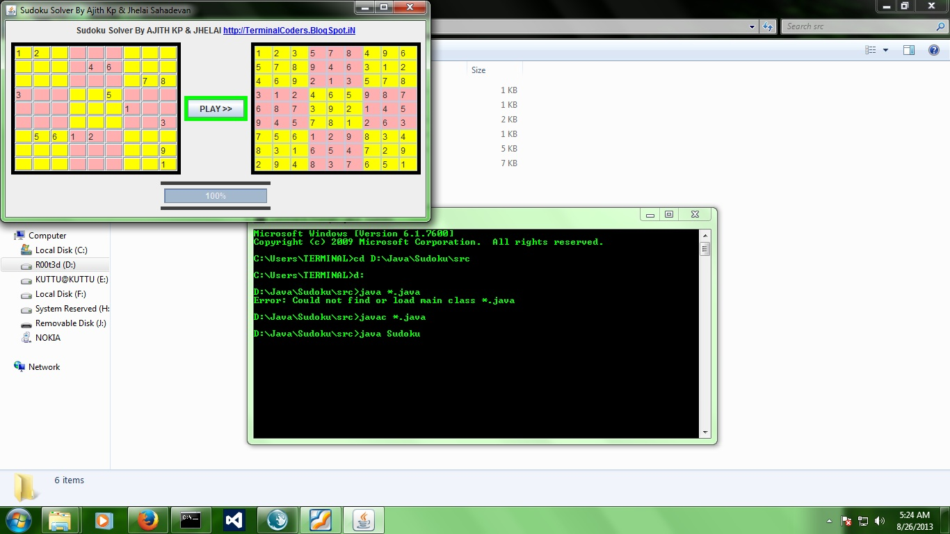Sudoku solver in java gui free source code tutorials and articles baditri Image collections