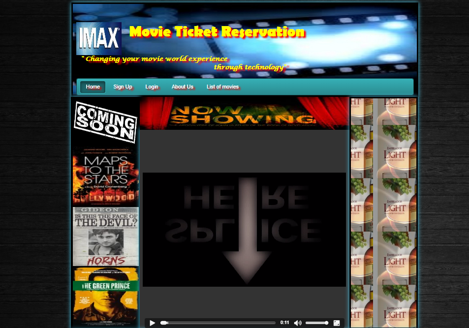 Online Movie Ticket Reservation | Free Source Code & Tutorials