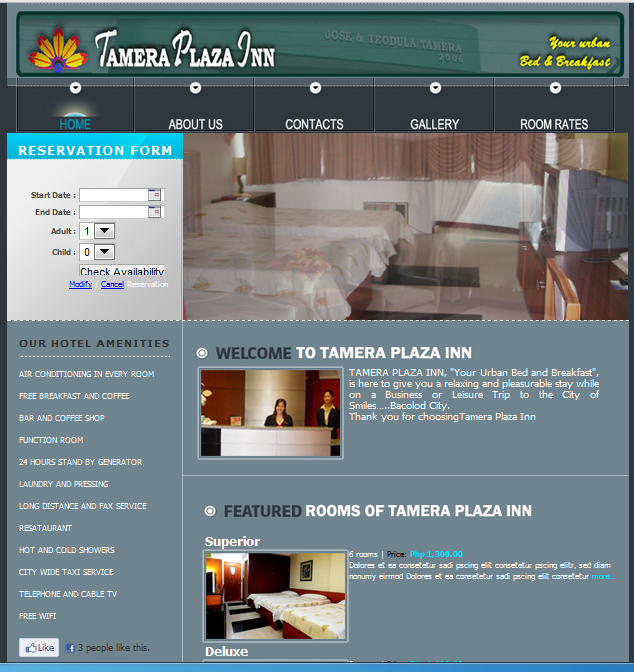 Online hotel reservation system v 2 0 free source code for Site reserver hotel