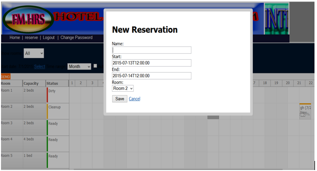 Hotel Reservation System   Free Source Code & Tutorials