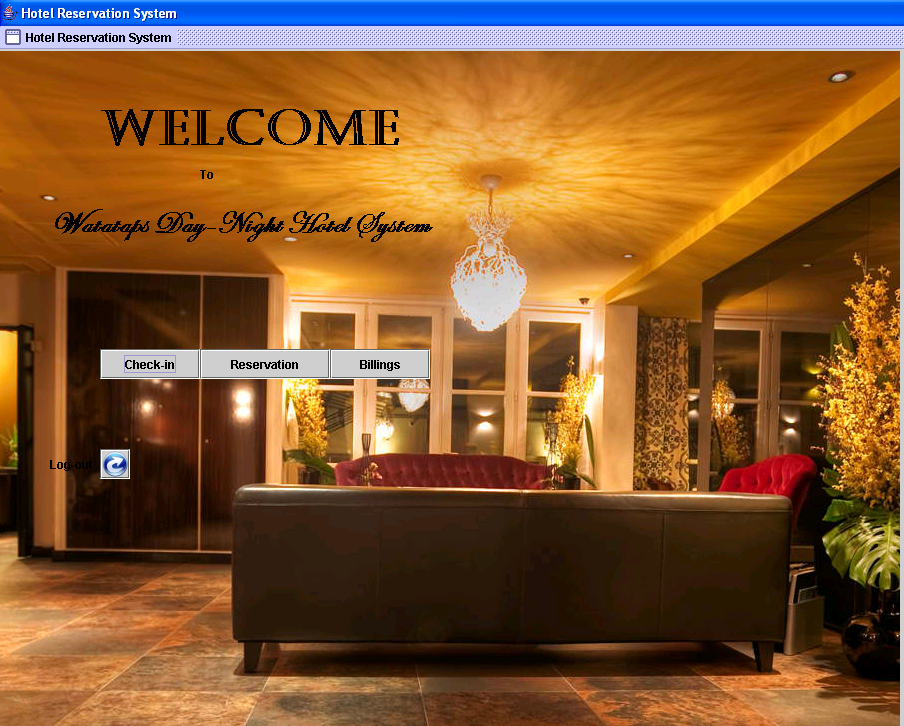 Hotel Reservation System for Watataps Inn (Java GUI) | Free