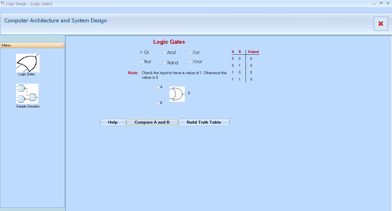 Logic Gates Project In Visual Basic Free Source Code Tutorials Not Gate Tutorial With Truth Table And Articles