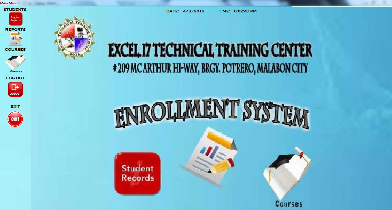 student enrollment system project