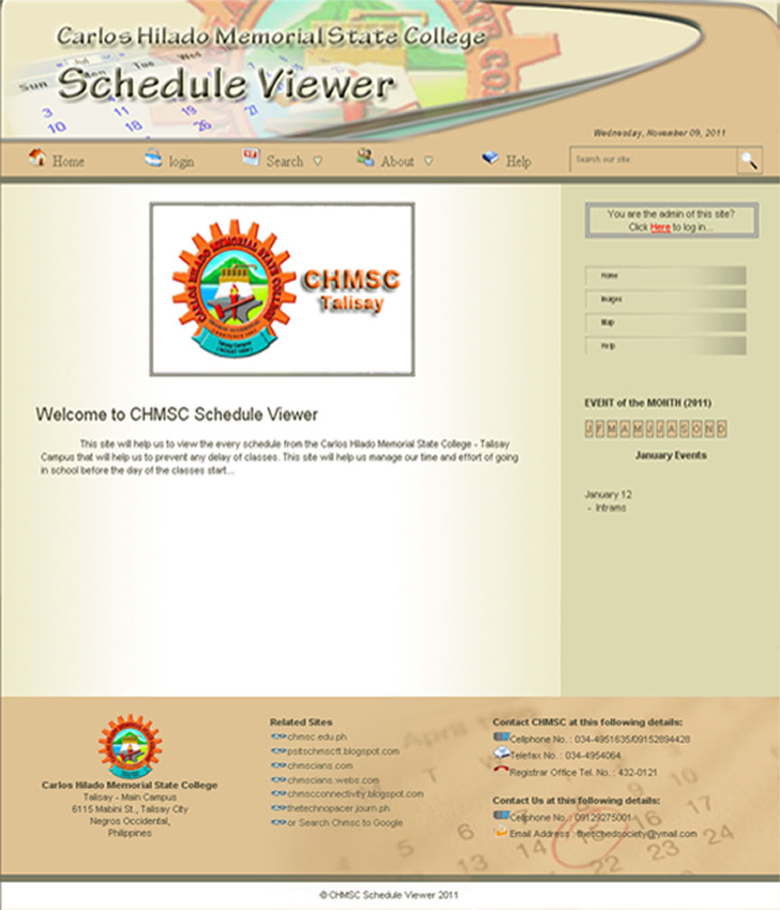 Online Inquiry and Reservation System
