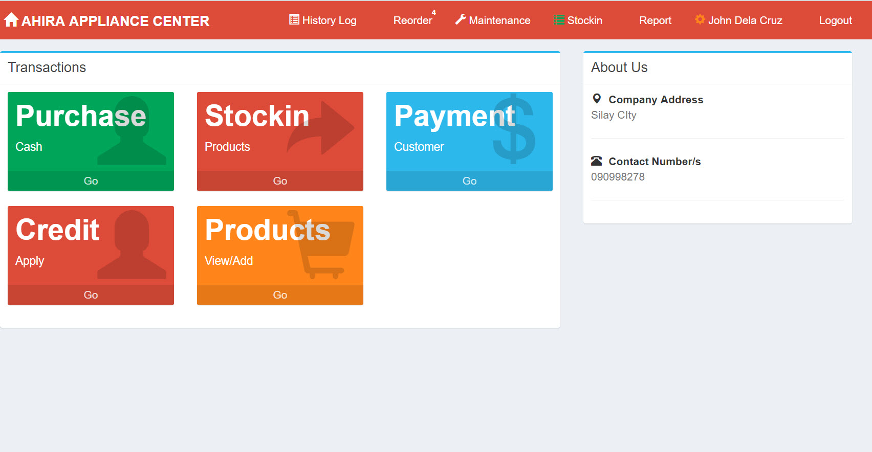 Sales and Inventory System with Credit Management | Free