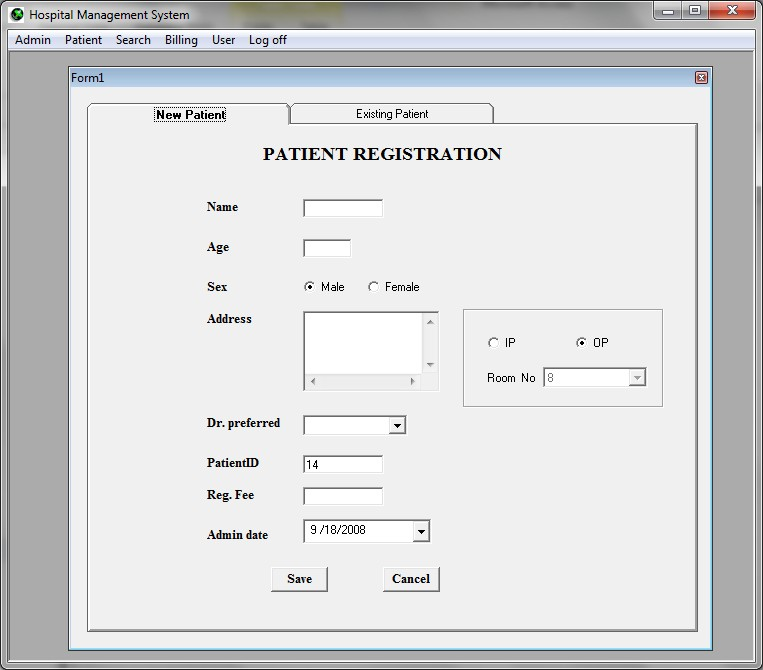 Hospital Management Free Source Code Tutorials And Articles