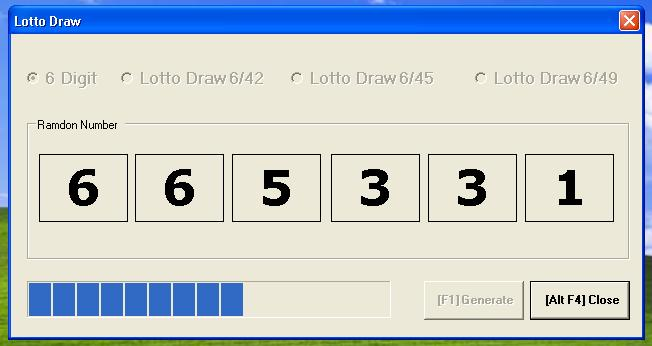 Drawing Lines Visual Basic : Lotto draw in visual basic free source code