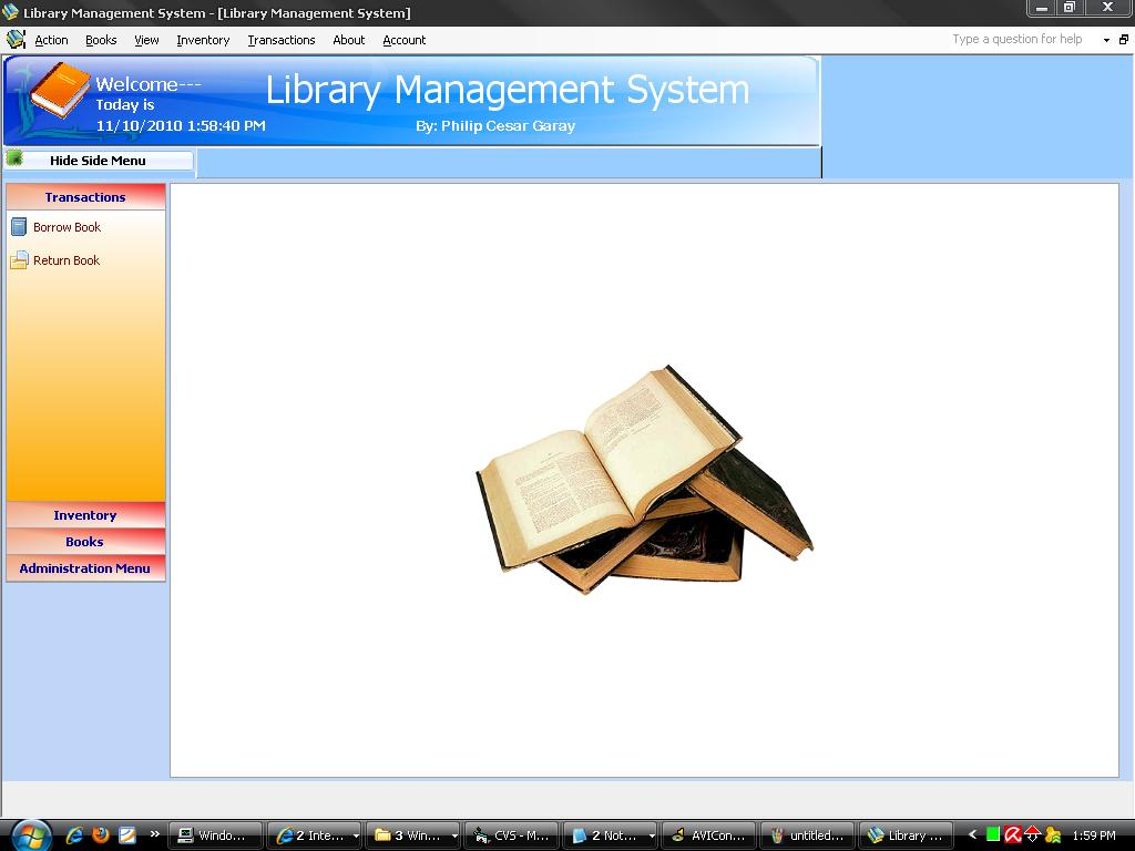 Library managment