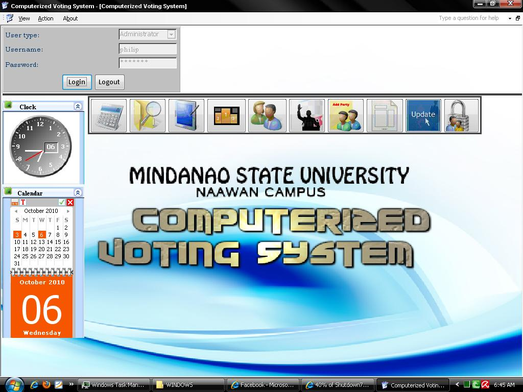 computerized voting system thesis