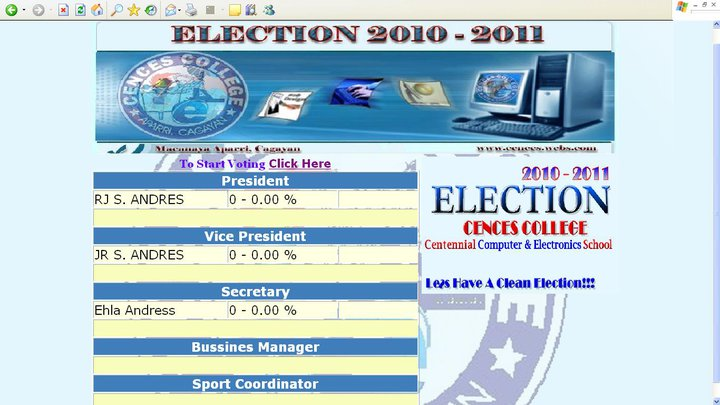 Voting System using PHP | Free Source Code & Tutorials