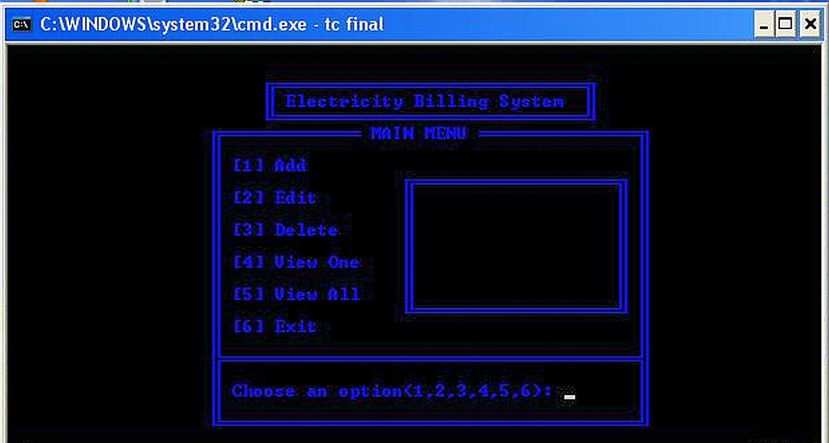Electricity Billing System Version 1 0 | Free Source Code & Tutorials