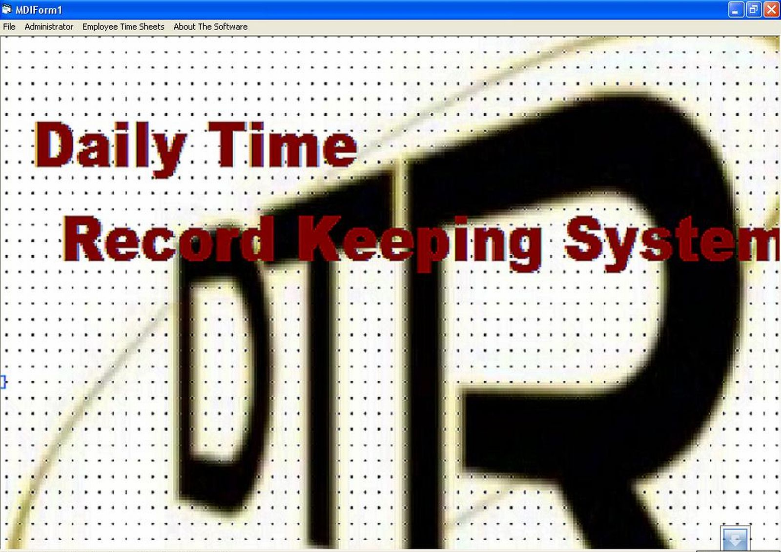 Attendance and daily time record system