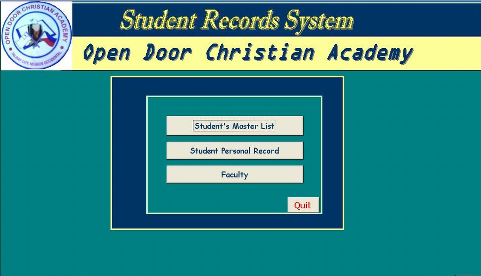 student record What is student records student records is a web-based service that allows students to manage their personal information at king's it also allows academic and administrative staff to view course/student information and perform student administration tasks online.