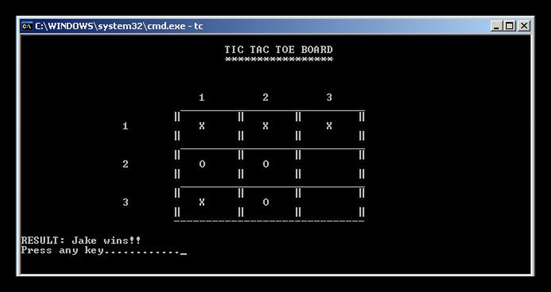 Tic Tac Toe Version 1 0 Free Source Code Tutorials And