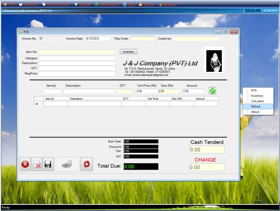 Free Point Of Sale Software