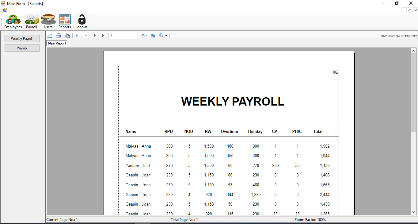Payroll System in C# | Free Source Code & Tutorials