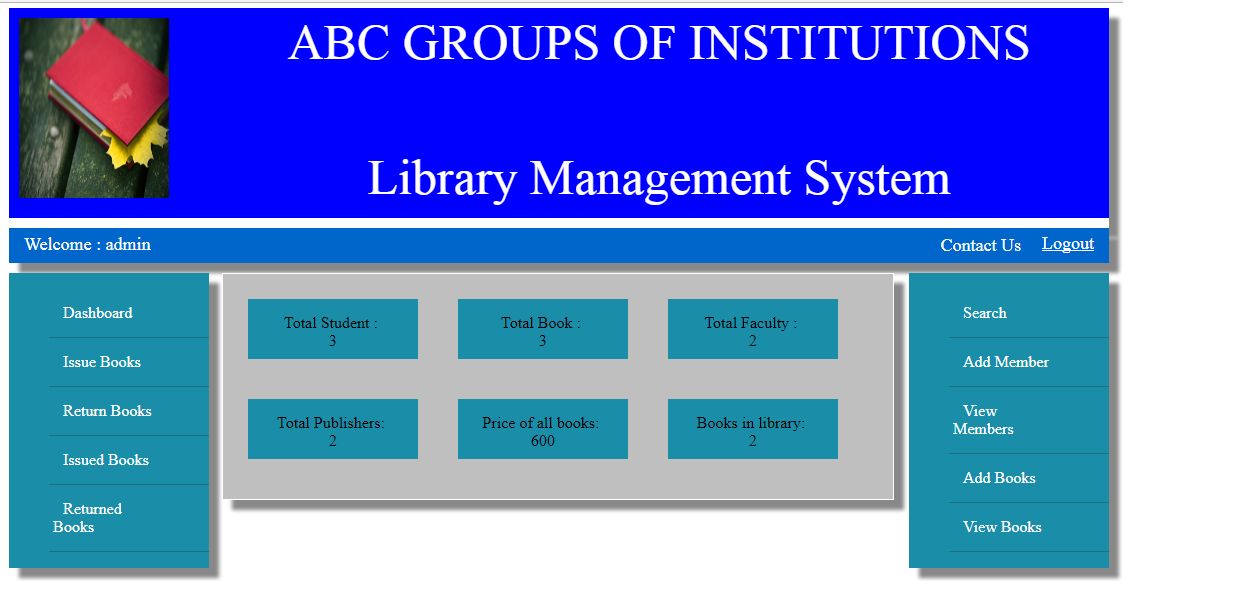 library management c Please can u giv me the algorithm for the library management: using c library with anonymous struct in c++ - 2 replies project on library management system - 11.